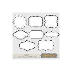 Printable Plaque Templates Printable Labels Clip Art Images Scrapbook Clip Art
