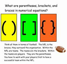 Brackets In Math Smart Exchange Usa Parentheses Braces And Brackets