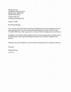 Example Generic Cover Letter Cover Letter For A Sales Representative Online Writing Lab