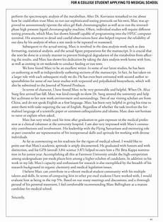 Sample Medical School Recommendation Letter Medical School Letters Of Recommendation Your Faq Inquarta