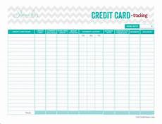 Credit Card Payment Tracker Perfect Free Credit Card Tracking Printable From Get
