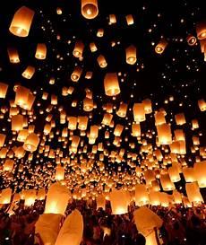 Raise Up Lights Rise Lantern Festival Lights Up The Las Vegas Sky For The