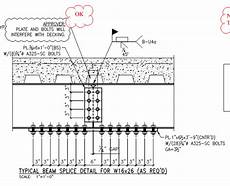 Cover Plate Design Example Beam Cover Plate Moment Splice Check Structural