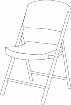 Fold Out Sofa Chair Png Image by Chair Bw Clip At Clker Vector Clip