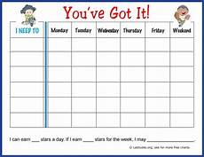 Weekly Behavior Chart Free Weekly Behavior Chart You Ve Got It Acn Latitudes