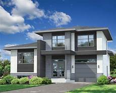 split level contemporary house plan 80779pm