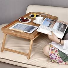 welland industries llc acacia breakfast bed serving tray
