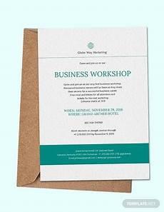Seminar Invitation Card Sample Free 17 Sample Business Invitation Templates In Pdf Psd