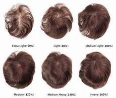 Hair System Light Density Hair Density Charts New Times Hair