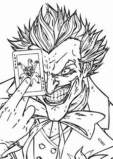 joker coloring pages coloring pages to and print