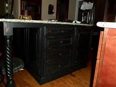 black distressed kitchen island savard studios black distressed kitchen island