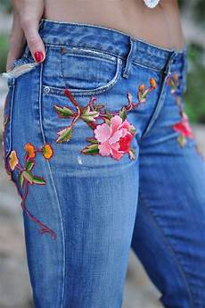 embroidery denim 25 genius ways to recycle and get that designer