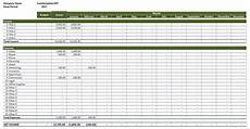 Income Expense Excel Template Rental Property Income And Expenses Excel Templates