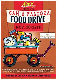 Can Food Drive Flyer Quot Can A Palooza Quot Food Drive Flyer Design For Foster