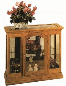 small one door curio cabinet from dutchcrafters amish