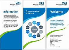 Examples Of Leaflets Nhs Identity Guidelines Fonts