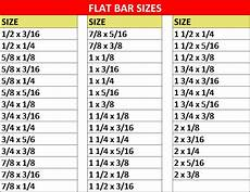Flat Bar Weight Chart Flat Bars Sunrise Materials Ltd