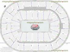 Marvel Universe Live Seating Chart Target Center Seating Chart With Rows And Seat Numbers