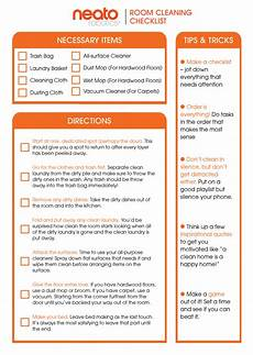 Cleaning Checklist By Room The Ultimate Guide To Cleaning Your Room Neato