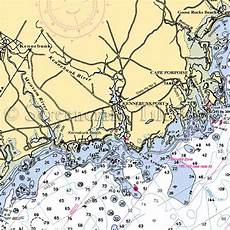 Cape Porpoise Tide Chart Maine Cape Porpoise Nautical Chart Decor