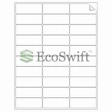 5260 Label Template 3000 2 625 X 1 Laser Address Shipping Adhesive Labels 30
