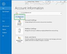 Setting Up Gmail Account In Outlook Gmail In Outlook 2016