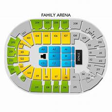St Charles Family Arena Seating Chart With Seat Numbers Family Arena Seating Chart Vivid Seats
