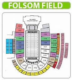 Rockland Boulders Seating Chart Folsom Field Folsom Football Field Seating Chart