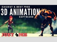 Easiest, Best Free 3D Animation Software For Beginners