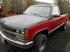 Foster Light Truck Parts Used 1989 Chevrolet Truck Chevrolet 2500 Pickup Rear Body