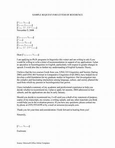 Request A Recommendation Letter 43 Free Letter Of Recommendation Templates Amp Samples