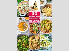 30 Low Carb Vegetarian Recipes   Savor   Savvy