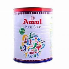 Amul Size Chart Amul Amul Pure Butter Ghee 12 X 1 Kg Fox Online Bv