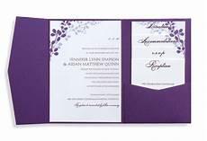 wedding invitation card template pocket wedding invitation template set by