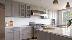Kitchen Light Grey Cabinets Forevermark Nova Light Grey Waverly Cabinets