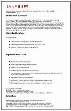 Skills And Abilities Resume Examples Cv Example With Transferable Skills Myperfectcv