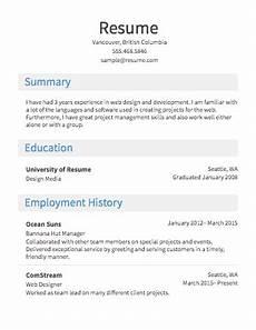 Online Job Resumes Example Job Resume Template Job Resume Format Resume