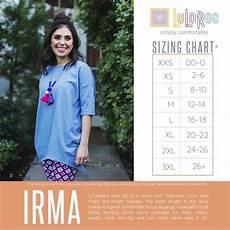 29 Off Lularoe Tops Lularoe Irma Xs Size Chart In