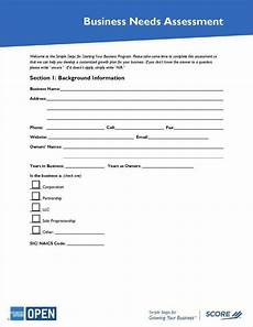 Company Assessment Template 5 Business Assessment Templates Pdf Free Amp Premium