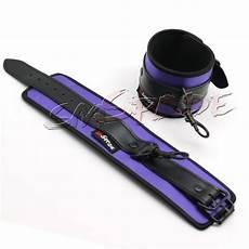 purple satin bedroom restraint system underbed