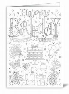 Ausmalbilder Geburtstag Tante Happy Birthday Zum Ausmalen Actetre Deutschland Gmbh