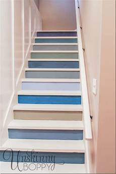 Stair Ideas Our Basement Staircase Transformation Reveal From