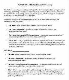 Evaluate Essay Example Evaluation Essay Template 5 Free Samples Examples