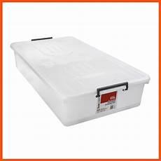 10 x 45l heavy duty large bed plastic storage boxes