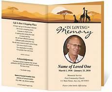 Funeral Program Templates Free Free Funeral Program Template