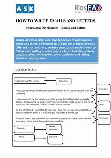 How To Format Letters 20 Email Writing Format Samples Pdf Examples