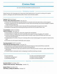 Most Recent Resume Format The 3 Resume Formats A Guide On Which Format To Use When