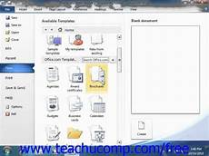Templates Word 2010 Word 2010 Tutorial Using Templates 2010 Microsoft Training