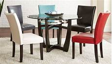 glass dining room sets matinee glass top dining room set from steve silver