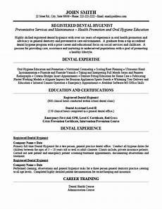 Dental Hygienist Resume Registered Dental Hygienist Resume Template Premium